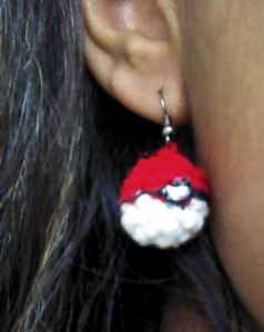Enjoy your new Pokeball earrings!
